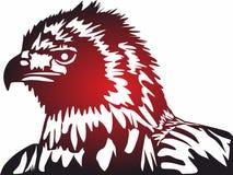 Eagle Icons, logo pour le concept et les apps mobiles de Web illustration libre de droits