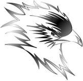stylized Eagle isolated royalty free stock photos