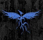 stylized Eagle on background Royalty Free Stock Photos