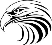Eagle illustration. Vector of eagle mascot head royalty free illustration