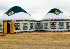 Eagle Kazakstan stockbilder