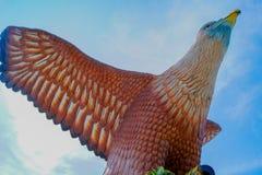 Eagle kwadrat w Langkawi Zdjęcie Stock