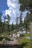 Eagle Lake-sleepmeer Tahoe stock foto