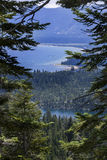 Eagle Lake trail- Lake Tahoe Royalty Free Stock Photos