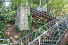 Eagle Landing Stairs 8 fotografía de archivo