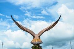 Eagle. Langkawi island, Malaysia. Eagle Square Stock Image