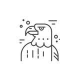 Eagle Line Icon Royalty Illustrazione gratis