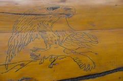 Eagle Line Sketch Lizenzfreie Stockfotografie