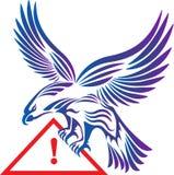 Eagle logo royalty ilustracja