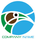 Eagle logo. With your company name vector illustration