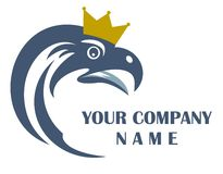 Eagle logo Royalty Free Stock Images