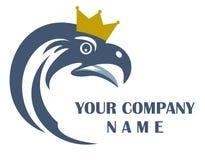 Eagle logo. Imperial eagle logo isolated on a white background royalty free illustration