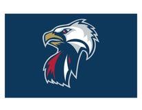 Eagle logo Royaltyfri Foto
