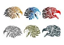 Eagle logo design. Vector illustration of eagle logo design in a set stock illustration