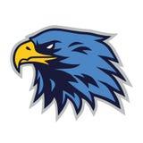 Eagle Logo Mascot Vector Cartoon Template vektor illustrationer