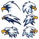 Eagle Logo Set Vector Vektor Abbildung