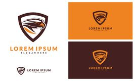 Eagle Logo Vector Illustration, logo de sport illustration stock