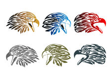 Eagle-Logodesign Lizenzfreies Stockbild
