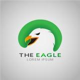 THE EAGLE LOREM IPSUM royalty free stock photo