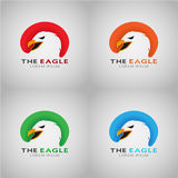 THE EAGLE LOREM IPSUM  Stock Photo