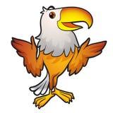 Eagle Mascot Stock Image