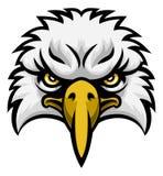 Eagle Mascot Face Photo libre de droits