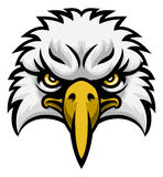 Eagle Mascot Face Royalty Free Stock Photo