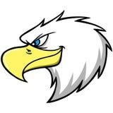 Eagle Mascot Head Royalty Free Stock Photography