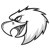 Eagle Mascot Scream Illustration Images stock