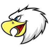 Eagle Mascot Scream Royalty Free Stock Image