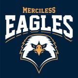 Eagle Mascot Sport Emblem illustrazione di stock