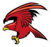 Eagle-mascotte Royalty-vrije Stock Afbeeldingen