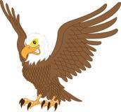 Eagle maskotki klamerki wektorowa sztuka Zdjęcia Stock