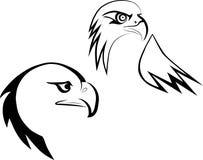 Eagle-Maskottchen lizenzfreie abbildung