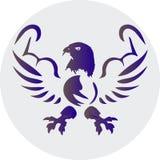 Eagle med muskler Arkivfoto