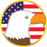 Eagle Medallion Royalty Free Stock Photography