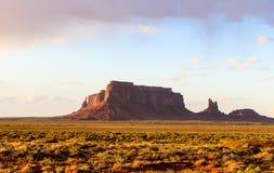 Eagle Mesa en vallée de monument Photos libres de droits