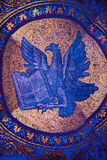 Eagle Mosaic Saint Mark's Basilica Venice Italy Stock Photos