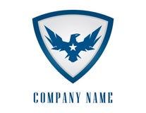 Eagle osłony logo ilustracji