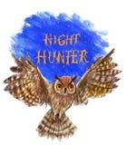 Eagle-owl Royalty Free Stock Image