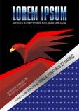 Eagle Poster Background Stock Photos