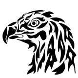 Eagle pour la coloration ou le tatouage Photo libre de droits