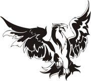 Eagle - predatory bird. Stock Images