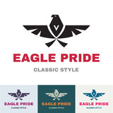 Eagle Pride - Logo for Business Compan Stock Photography