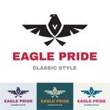 Eagle Pride - logo pour des affaires Compan Photographie stock