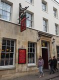 Eagle Pub à Cambridge photo stock