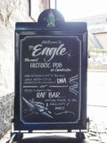 Eagle Pub in Cambridge royalty-vrije stock afbeelding