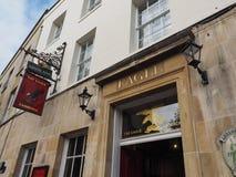 Eagle Pub em Cambridge imagens de stock