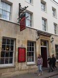 Eagle Pub en Cambridge foto de archivo