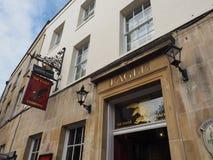 Eagle Pub i Cambridge royaltyfri foto